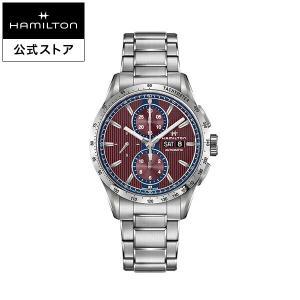 ハミルトン 公式 Hamilton Broadway ブロードウェイ オートクロノ メンズ メタル ...