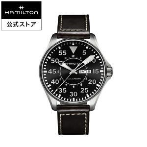 ハミルトン 公式 腕時計 Hamilton Khaki Pilot Day Date カーキ アビエ...