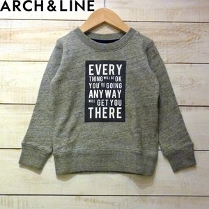 【ARCH&LINE】SALT TERRY EVERY PO トレーナー  MG GRAY お洒落な...