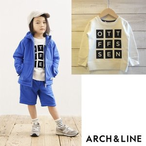 "【ARCH&LINE】SALT TERRY ""BOX"" PO トレーナー  WHITE 裏毛の切り替..."