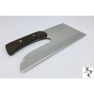 蕎麦切り包丁 DPゴールド鋼 300mm 右利き用|hamono-sanshodo