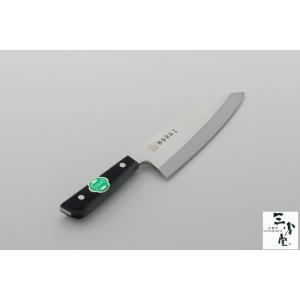 出刃 津保吉金 モリブデン 180mm 右利き用|hamono-sanshodo