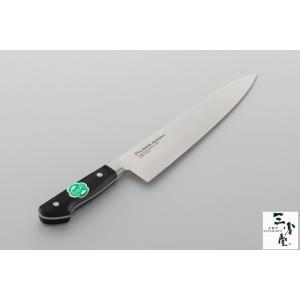 牛刀 Picaso モリブデンステン 黒合板共口金 240mm|hamono-sanshodo