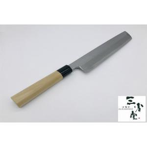 ハモ切り 白鋼 本霞研 水牛柄 270mm|hamono-sanshodo
