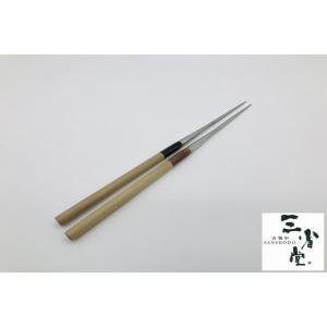 盛り箸 ステンレス 水牛柄 135mm|hamono-sanshodo