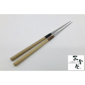 盛り箸 ステンレス 水牛柄 150mm|hamono-sanshodo
