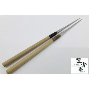 盛り箸 ステンレス 水牛柄 180mm|hamono-sanshodo