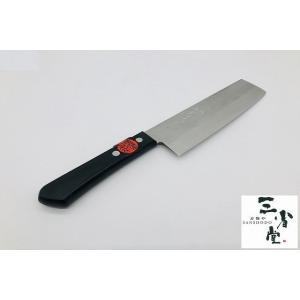菜切り みのり V10 梨地 黒合板 165mm|hamono-sanshodo