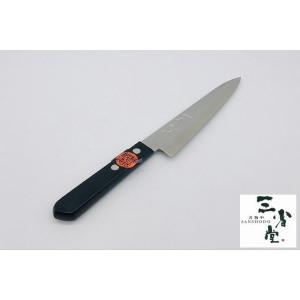 ペティ 秀之作 梨地 銀紙 120mm|hamono-sanshodo