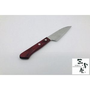 ペティ 誠貴作 V金10号 赤合板 150mm|hamono-sanshodo
