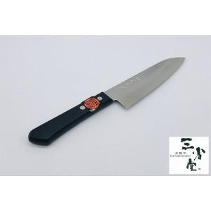三徳 秀之作 梨地 銀紙 165mm|hamono-sanshodo