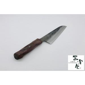 三徳 未来の匠 白鋼 丹波焼柄 140mm|hamono-sanshodo