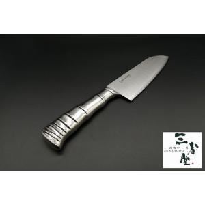 三徳 片岡製作所 TAMAHAGANE 竹 175mm|hamono-sanshodo