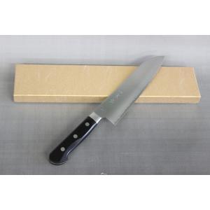 万能(三徳)包丁 舟行型 末廣 日本刀の切れ味 スウェーデンステンレス鋼 サンドビック社 19C27鋼 本割込 日本製 関市|hamononosuehiro