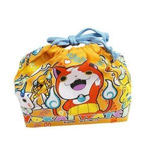 オーエスケー 妖怪ウォッチ 巾着弁当袋 (オレンジ) KB-1