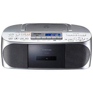 東芝 CDラジオカセットメモリーレコーダー(シルバー)TOSHIBA TY-CDX7-S