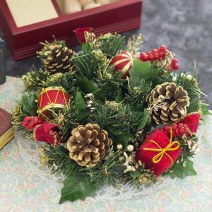 クリスマスリース 23cm  クリスマス飾り
