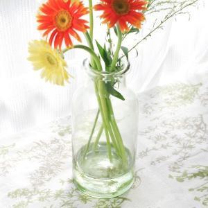 フラワーベース 花瓶 ガラス クラシカルガラスフラワーベースA|hana-kazaru