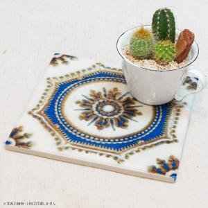 タイル おしゃれ 雑貨 デザインタイル VARENCIA 15cm|hana-kazaru