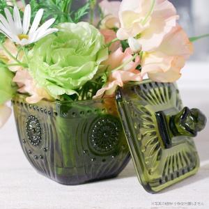 フラワーベース 花瓶 ガラス フォレストキャニスター|hana-kazaru