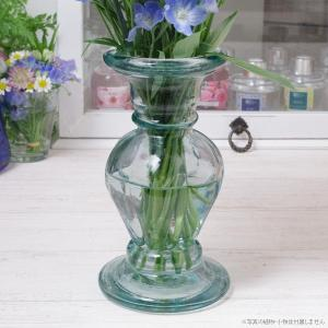フラワーベース 花瓶 リサイクルガラス エレガントガラスフラワーベース クリア|hana-kazaru