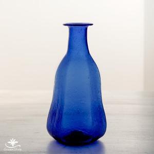 フラワーベース 花瓶 ガラス ラピス・シングルベース|hana-kazaru