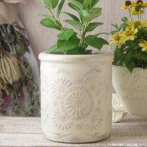 プランター おしゃれ 植木鉢 陶器 クリステンポット 約6号 hana-kazaru