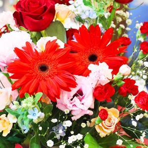 赤色のお花は情熱的な愛のメッセージ|hana-sandlot