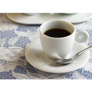 クレセント エスプレッソコーヒー カップ&ソーサー 110cc ホワイト キャッシュレス 還元|hana2