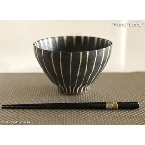 箸 金銀巻 23cm 黒 キャッシュレス 還元|hana2
