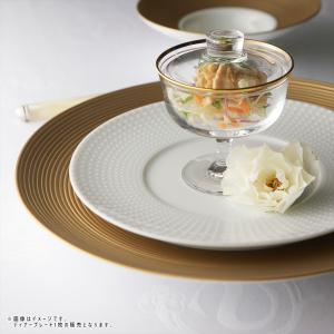 ディモーダ ホワイト/ゴールド ディナープレート 28cm キャッシュレス 還元|hana2