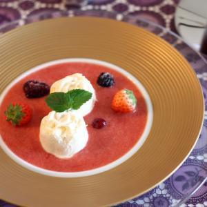 ディモーダ ホワイト/ゴールド デザートプレート 22cm キャッシュレス 還元|hana2