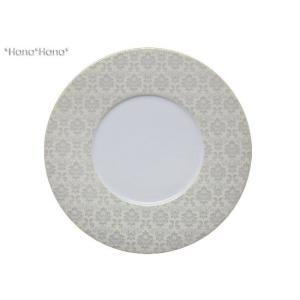 モーダ サービスプレート 31cm ホワイト&ラスター キャッシュレス 還元|hana2