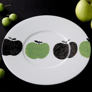 Shinzi Katoh メーレ りんご サービスプレート 31cm キャッシュレス 還元|hana2