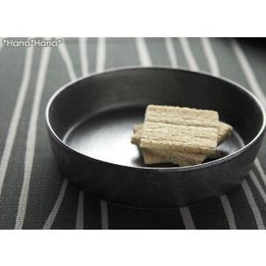 カネコ小兵 銀黒回角 切立中鉢 17cm ブラック//美濃焼 和食器