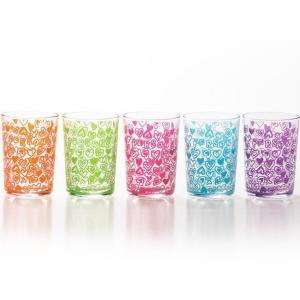 パーソンズ ジュースグラスセット ポップンカラー(お取り寄せ品) キャッシュレス 還元|hana2