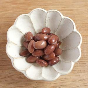カネコ小兵 リンカ 花型小鉢 12.5cm 白練/茶練 キャッシュレス 還元|hana2