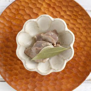 カネコ小兵 リンカ 花型ミニ小鉢 10.5cm 白練/茶練 キャッシュレス 還元|hana2