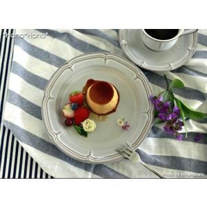 ソフィア グレー ケーキプレート 20cm キャッシュレス 還元|hana2