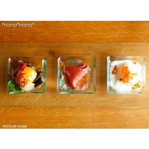 グランデヴェートロ 三品盛仕切り長角皿 30cm (お取り寄せ品) ガラス キャッシュレス 還元