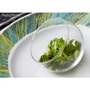 ガラス ヴァーサタイル 斜めアイスクリームグラス 120ml キャッシュレス 還元|hana2