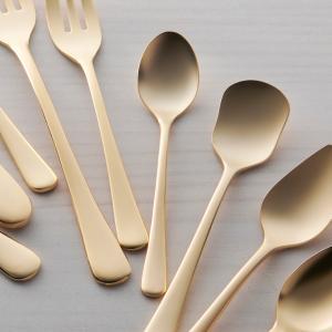 ゴールド コーヒースプーン 12cm ステンレス キャッシュレス 還元|hana2