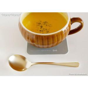 ゴールド ブイヨン スープスプーン 14cm ステンレス キャッシュレス 還元|hana2