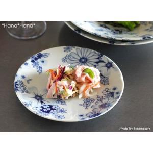 藍の花めぐり 取り皿 16cm キャッシュレス 還元|hana2
