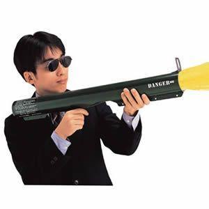結婚式・パーティー・イベントに! M−72砲バズーカ クラッカー(本体1本・替え弾2個入)