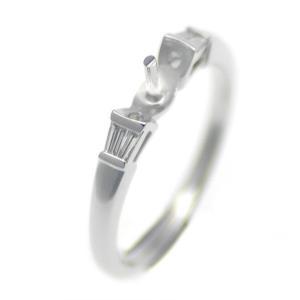 アコヤ真珠用 プラチナ リング枠  Pt950 商品番号:R02073|hanadama-ise