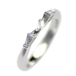アコヤ真珠用 プラチナ リング枠  Pt950 商品番号:R03051|hanadama-ise