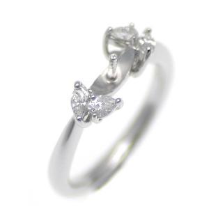アコヤ真珠用 プラチナ リング枠  Pt950 商品番号:R20226|hanadama-ise