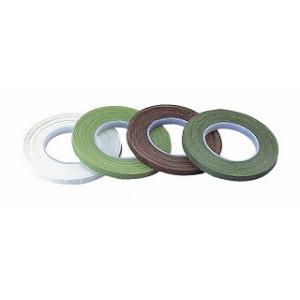 フローラテープ6mm ライトグリーン 90-20-10 02  12巻//花 資材 テープ フローラテープ