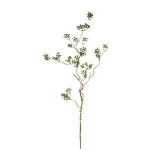 造花 MAGIQ 東京堂  ハートリーフ ツイッグスプレー GREEN FG002607 造花枝物 その他の造花枝物|hanadonya